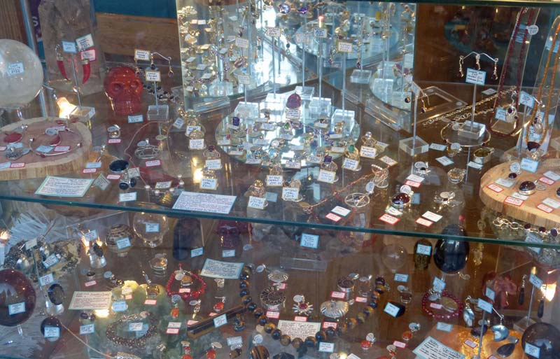 Glastonbury's 'Crystal shops', Part 3 | Musiewild's blog