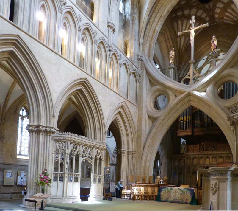 Wells Cathedral and Spem20